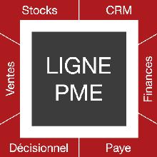 Logiciel EBP, schema ligne PME